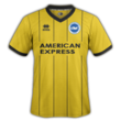 Brighton away kit