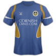 Truro City away kit