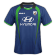 Tampines Rovers FC away kit