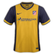 Atletico Madrid away kit