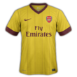 Arsenal third kit